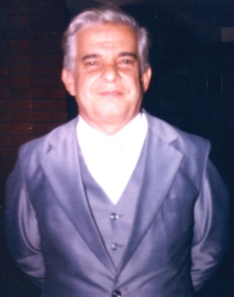 Rev  Ercy Teixeira Braga - pastor titular de 1984 a 1985