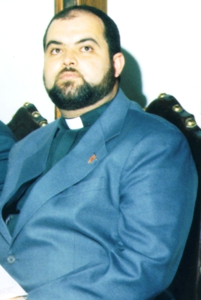 Rev Roberto Alves de Souza - pastor coadjutor de 1998 a 1999